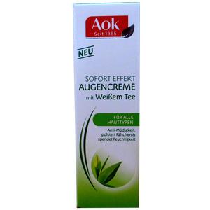AOK Augencreme mit Weißem Tee 15 ml