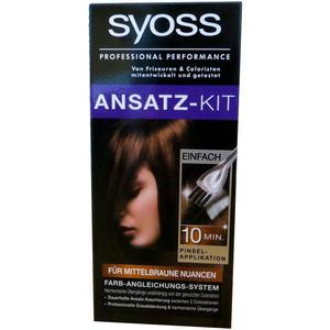 Syoss Ansatz-Kit für mittelbraune Nuancen