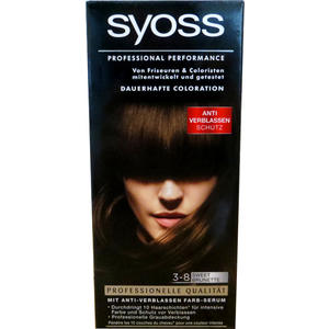 Syoss dauerhafte Coloration 3-8 Sweet Brunette