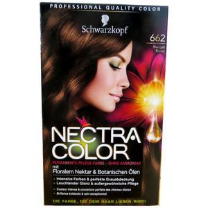 Schwarzkopf - Nectra Color 662 Nougat Braun