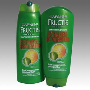 Garnier Fructis Shampoo 250 ml + Balsam 200 ml