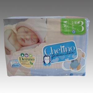 Chelino Love Midi T3 Babywindeln 4-10 KG, 36 Stk.