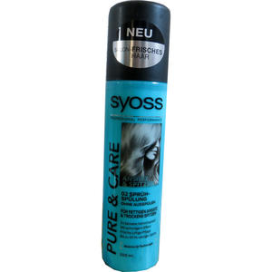Syoss Pure & Care SpraySpülung 200 ml