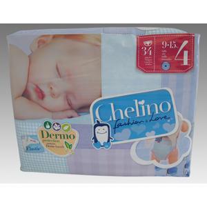 Chelino Love Midi T4 Babywindeln 9-15 KG, 34 Stk.