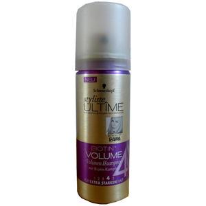 Schwarzkopf Styliste Ultime Biotin Volumen Haarspray 5 Stück x 50 ml