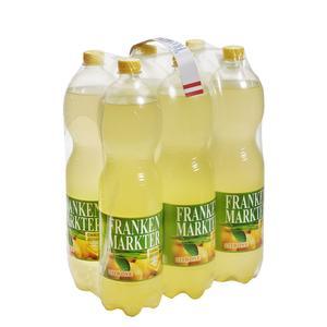 Frankenmarkter Limo Zitrone ohne Zucker 6x1,5 l