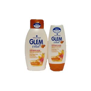 Glem Vital Nährpflege Nektar Shampoo+Balsam