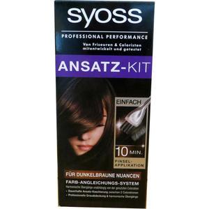 Syoss Ansatz-Kit für dunkelbraune Nuancen