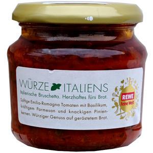 Italienische Bruschetta - Herzhaftes fürs Brot 3 Gläser á 190 g