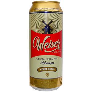 Weiser German Premium Hefeweizen 24 Dosen á 0,5 l
