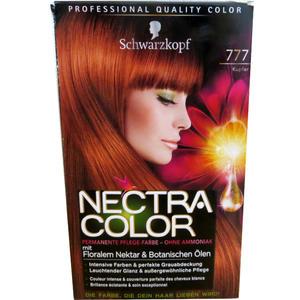 Schwarzkopf - Nectra Color 777 Kupfer