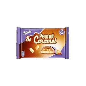 Milka Peanut Caramel Riegel 5 Pkg. à 5x37g