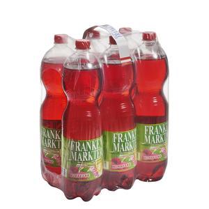 Frankenmarkter Limo Himbeer ohne Zucker 6x1,5 l