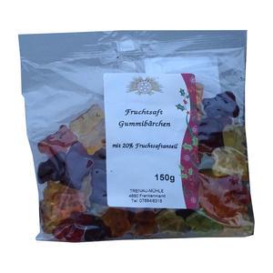 Trenau-Mühle Fruchtsaft Gummibärchen 150g