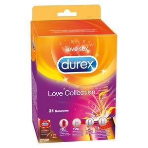 LOVE COLLECTION [Durex] 31er Pack