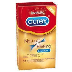 NATURAL FEELING [Durex] latexfrei - 12er Pack