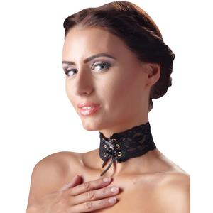 SPITZEN-HALSBAND [Cottelli Collection] schwarz