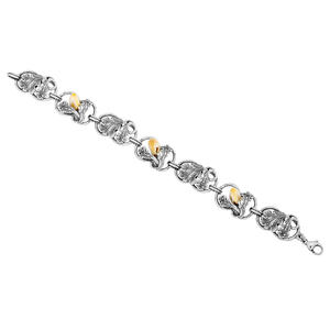 Feichtinger - Trachtenarmband mit Grandel, 925/- Silber
