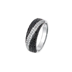 Feichtinger - Ring 585/-Weissgold, 0,23ct.Brillant/0,74ct.Diamant
