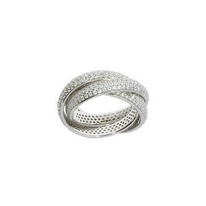 Feichtinger - Ring 925/- Silber, rhodiniert