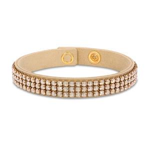 Feichtinger - Spark Armband beige nSwarovski Steine