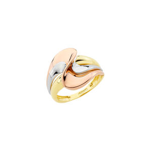 Feichtinger - Ring 585/- Gelbgold, Weißgold, Rotgold