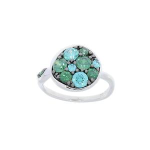 Feichtinger - Ring 925/-Silber rhodiniert n