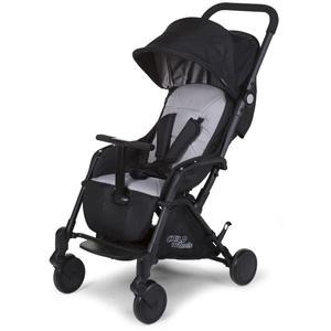 New T-Compact Stroller + Rc + Mc Adapter Black