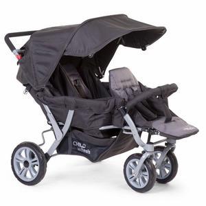 Childwheels Sportwagen für drei Kinder inkl Regenschutz