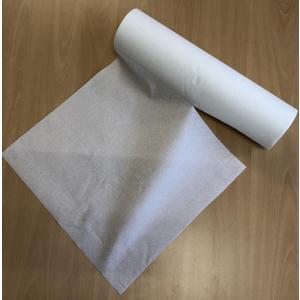 Wickeltisch Einweg Papierabdeckung zum hygienischen Wickeln eines Babys