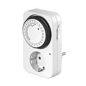 24 Std. Zeitschaltuhr Analog, LED-Kontrolle