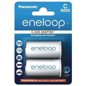 eneloop BQ-BS2E/2E Adapter AA/Mignon auf C/Baby