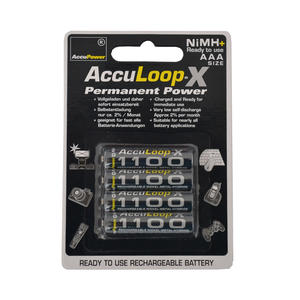 AccuPower AccuLoop-X Permanent Power AAA/Micro 1100mAh