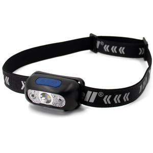 XCell LED Sensor-Kopfleuchte H230 Kopfband reflektierend mit Bewegungssensor