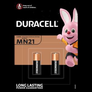 Duracell MN21 Batterie, A23, V23GA, GP23A, K23A, E23A 2-Pack