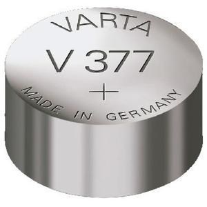 Knopfzelle 377, Varta V377, SR66, SR626SW