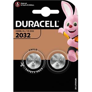 Duracell CR2032 Lithium Knopfbatterie 2-Blister