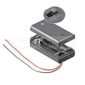 Batteriehalter für 2x AA/Mignon/LR6 Batterien oder Akkus