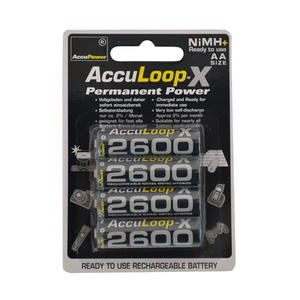 AccuPower AccuLoop-X Permanent Power AA/Mignon 4-Blister