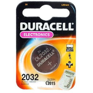Duracell CR2032 Lithium Knopfbatterie