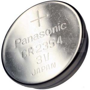 CR2354 Lithium Batterie mit Vertiefung am Minuspol, 560mAh