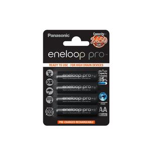 eneloop Pro BK-3HCDE/4BE AA/Mignon/LR6 4-Blister