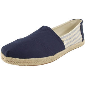 League Stripes Wm Damen Espadrilles, dunkelblau/cremeweiß (navy ivy)