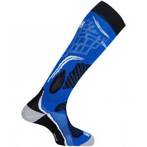 X Pro Unisex Skisocken, union blue/black