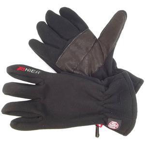 Storm.WS Men Herren Fleece-Handschuhe, schwarz