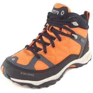 Gore-Tex Ascent Jr GTX Kinder Hiking-Schuhe, orange/schwarz (rust/blk)