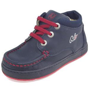 Mini N2 Kleinkinder Schnürschuhe, dunkelblau (bleu/rosso)