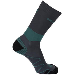 Quest Unisex Wander-Socken, night forest/nori green