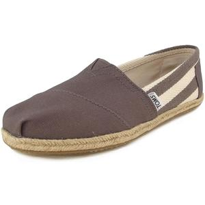 Classic Stripe University Wm Damen Espadrilles, dunkelgrau (dk grey)