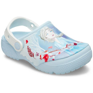 Fun Lab Disney Frozen Anna & Elsa Mädchen Clogs, Mineral Blue